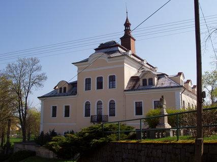 FOTKA - Nalžovice - za války zámeček sloužil jako vysoký vojenský soud zbraní SS, dnes ústav soc.péče.