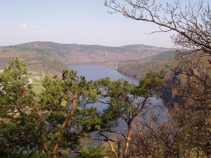 FOTKA - výhled na Slapskou přehradu