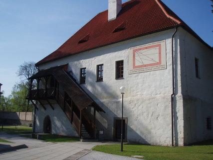 FOTKA - areál kláštera - Milevsko .