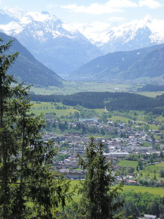 FOTKA - Pohled na Saalfelden, Zell am See a Kitzsteinhorn 3