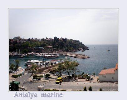 FOTKA - přístav v Antalii