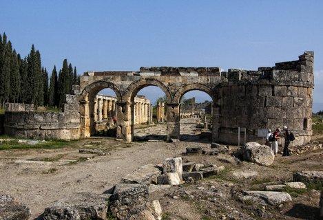 FOTKA - vykopávky řeckého města Hierapolis
