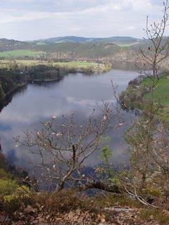 FOTKA - jarní toulky -  v okolí Slapské přehrady