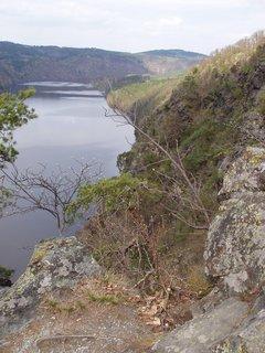 FOTKA - odpoledne nad Slapskou přehradou