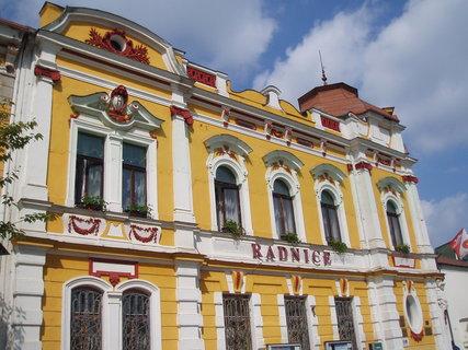 FOTKA - nová radnice - Veselí n.L.